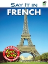 Say It in French (eBook)